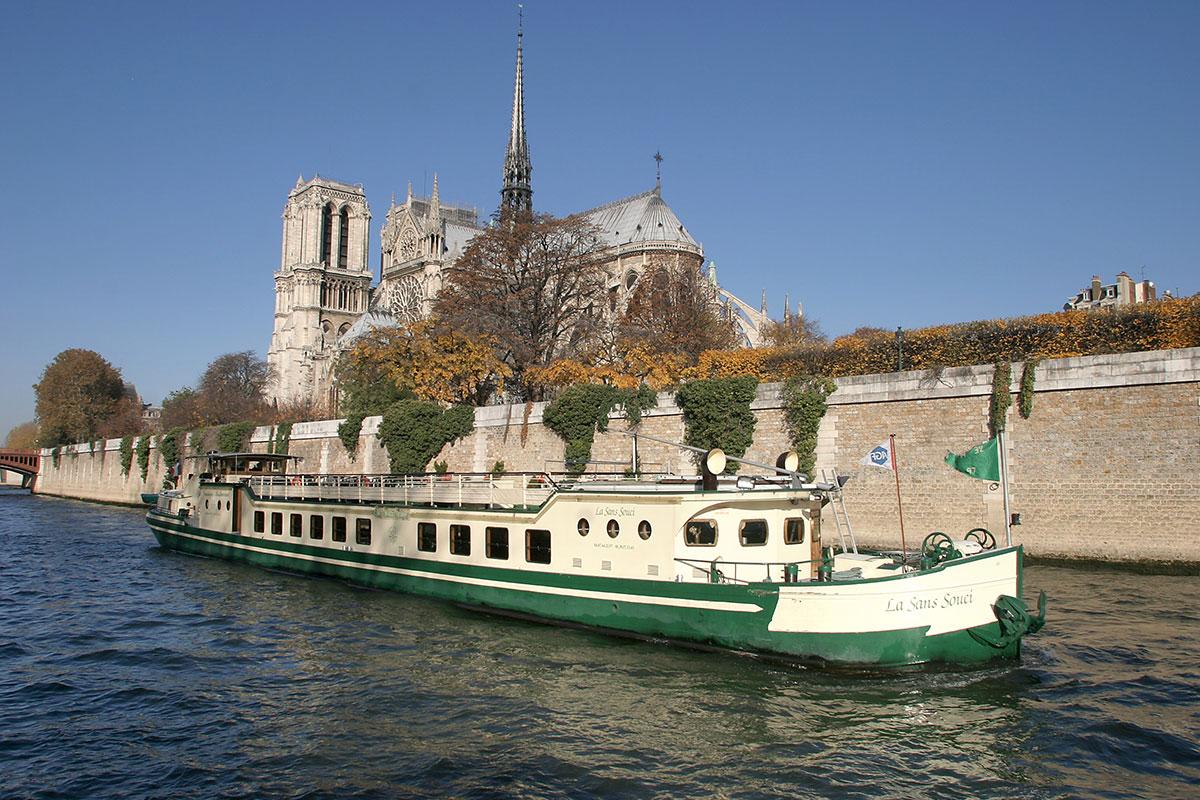 Péniche sans souci Paris Péniches