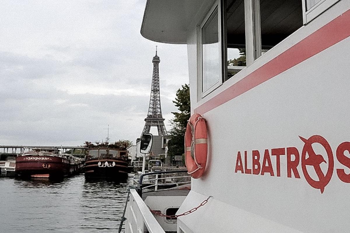 Péniches Albatros Paris Péniches