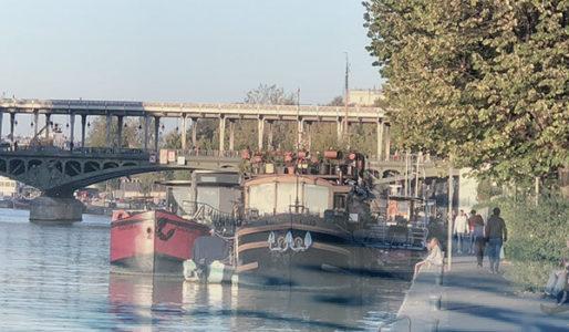 Amarrage Paris Péniches